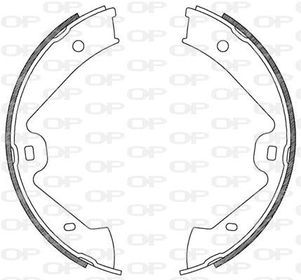 kit de frein arrière simple ou prémonté Solid parts BSA2181.00 (Jeu de 4)