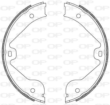 kit de frein arrière simple ou prémonté Solid parts BSA2211.00 (Jeu de 4)