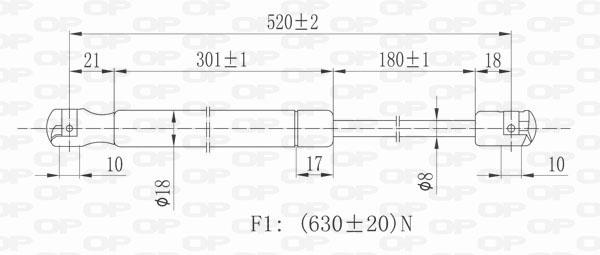 TRW effort de Freinage Amplificateur RENAULT psa112