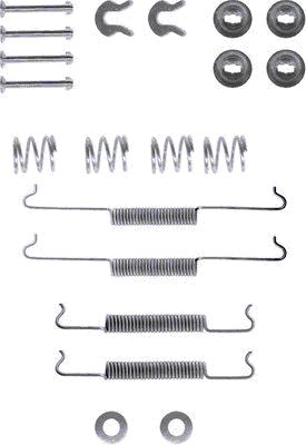 Kit de montage machoires de frein TEXTAR 97001500 (X1)