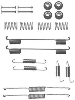 Kit de montage machoires de frein TEXTAR 97033900 (X1)