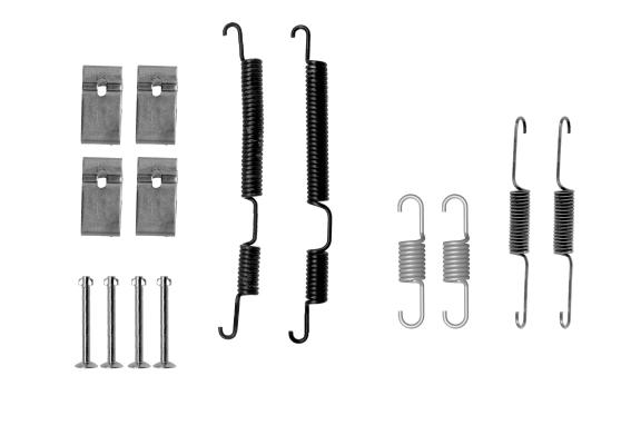 Kit de montage machoires de frein TEXTAR 97043700 (X1)
