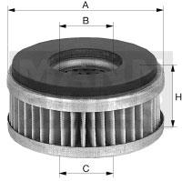 Autres filtres MANN-FILTER C 6005 (X1)