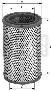 Filtration MANN-FILTER C 1450 (X1)