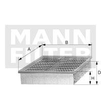 Filtre a air MANN-FILTER C 35 104 (X1)