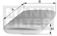 Autres filtres MANN-FILTER CS 51 (X1)
