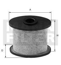 Autres filtres MANN-FILTER LC 1002 (X1)