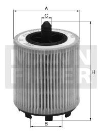 Filtre a huile MANN-FILTER HU 6007 x (X1)