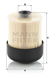 Filtre a carburant MANN-FILTER PU 9011 z KIT (X1)