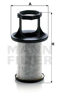 Autres filtres MANN-FILTER LC 5002 x (X1)