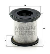 Autres filtres MANN-FILTER LC 10 001 x (X1)