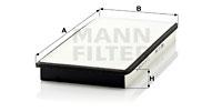 Filtre d'habitacle MANN-FILTER CU 3360 (X1)