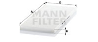 Filtre d'habitacle MANN-FILTER CU 3942 (X1)