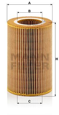 Filtre a air MANN-FILTER C 1041 (X1)