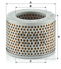 Filtration MANN-FILTER C 1112 (X1)