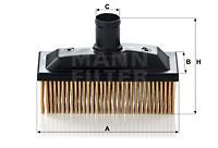 Autres filtres MANN-FILTER C 118 (X1)