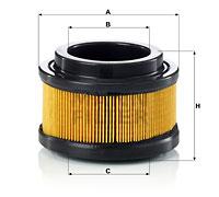 Autres filtres MANN-FILTER C 11 008 (X1)