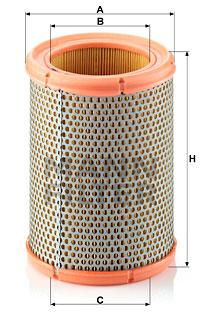 Filtre a air MANN-FILTER C 1362 (X1)