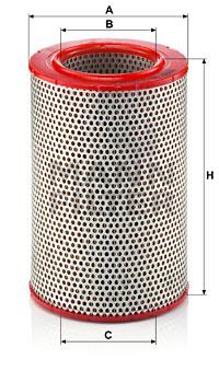 Filtre a air MANN-FILTER C 15 120 (X1)