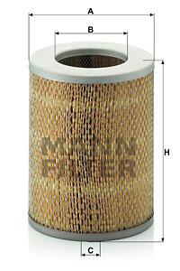 Filtre a air MANN-FILTER C 16 136 (X1)