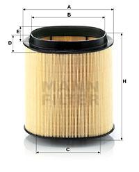 Filtre a air MANN-FILTER C 1869 (X1)