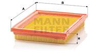 Filtre a air MANN-FILTER C 2237 (X1)