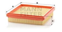 Filtre a air MANN-FILTER C 25 153 (X1)