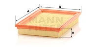 Filtre a air MANN-FILTER C 2851 (X1)