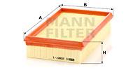 Filtre a air MANN-FILTER C 2987/1 (X1)