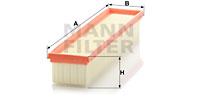 Filtre a air MANN-FILTER C 3875/1 (X1)