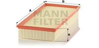 Filtre a air MANN-FILTER C 39 219 (X1)