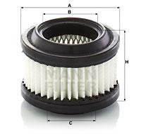 Autres filtres MANN-FILTER C 6006 (X1)