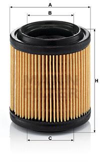 Filtre a air MANN-FILTER C 710/1 (X1)