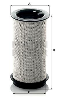 Autres filtres MANN-FILTER C 716 x (X1)