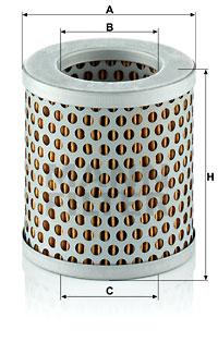Filtration MANN-FILTER C 75/4 (X1)