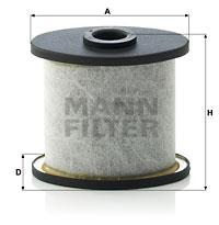 Autres filtres MANN-FILTER C 911 x-2 (X1)