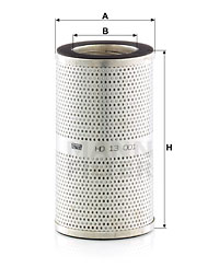 Filtre a huile de boite de vitesse MANN-FILTER HD 13 001 (X1)