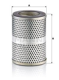 Filtre a huile de circuit hydraulique MANN-FILTER HD 13 002 (X1)