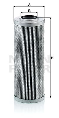 Filtre a huile de boite de vitesse MANN-FILTER HD 846 (X1)