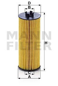 Filtre a huile MANN-FILTER HU 6009 z (X1)