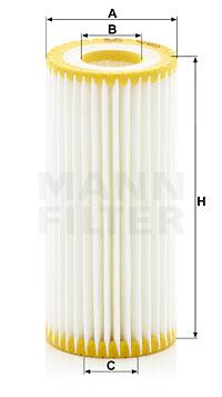 Filtre a huile MANN-FILTER HU 6013 z (X1)