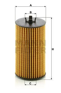 Filtre a huile MANN-FILTER HU 6019 z (X1)