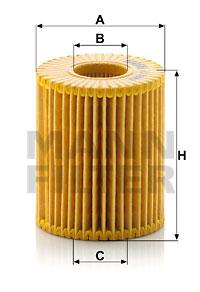 Filtre a huile MANN-FILTER HU 7009 z (X1)