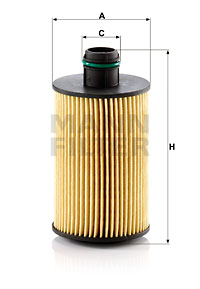 Filtre a huile MANN-FILTER HU 7018 z (X1)
