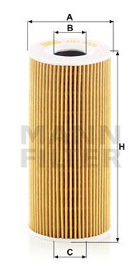 Filtre a huile MANN-FILTER HU 7026 z (X1)