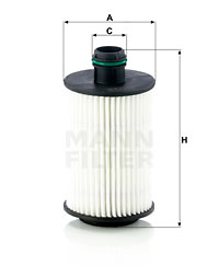 Filtre a huile MANN-FILTER HU 7030 z (X1)