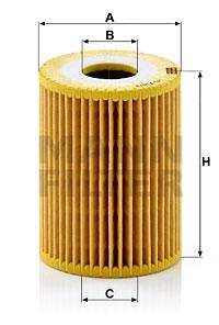 Filtre a huile MANN-FILTER HU 719/3 x (X1)