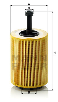 Filtre a huile MANN-FILTER HU 719/7 x (X1)