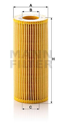 Filtre a huile de boite de vitesse MANN-FILTER HU 721 w KIT (X1)