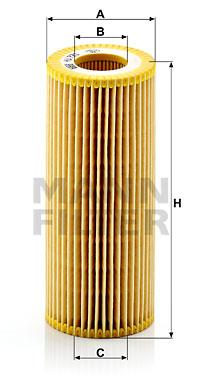 Filtre a huile de boite de vitesse MANN-FILTER HU 721 x KIT (X1)